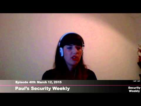 Security Weekly #409 - Interview with Keren Elazari