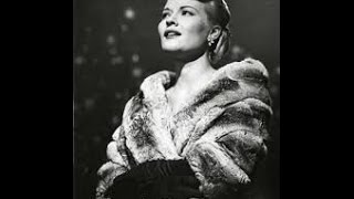 Watch Patti Page I Didnt Know About You video