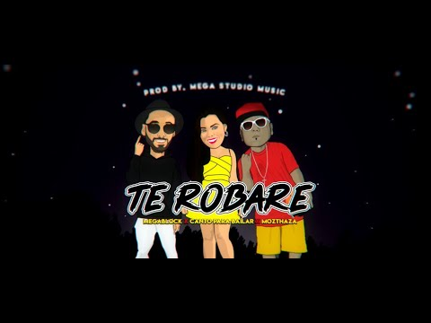 Megablock ft Canto Para Bailar y Mozthaza - Te Robaré (Video Lyric Oficial) | Cumbia