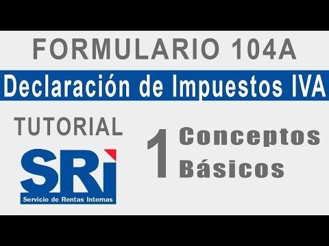 Declaracion del IVA Paso a Paso | CONCEPTOS BASICOS