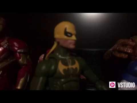 AVENGERS VS THANOS: infinity war (stop motion animation ...