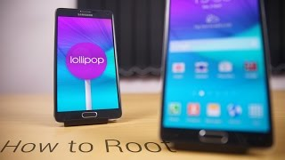 How to Root the Galaxy Note 4 [Lollipop] [w/o loss of Data]