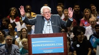 """Bernie Says Dropping Out Is """"Absurd!"""""""