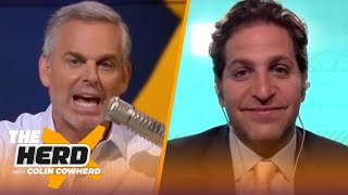 Peter Schrager shares 2021 NFL Mock Draft, talks Justin Fields & Kyle Pitts | NFL | THE HERD