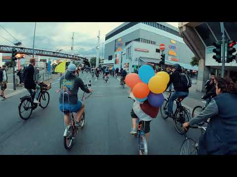 Critical Mass Wuppertal - Juni 2019