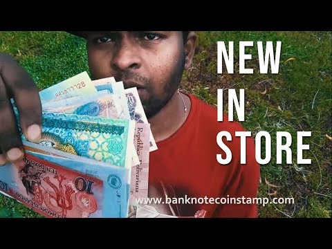 Whats New in our Banknote store ?