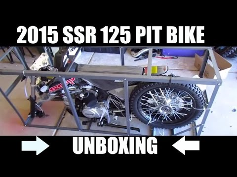 UNBOXING SSR 125 PITBIKE
