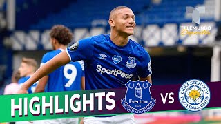 Highlights & Goals | Everton Vs. Leicester City 2-1 | Telemundo Deportes