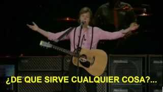 Paul McCartney- Mrs Vandebilt (Zocalo,Mex) Subtitulada Español