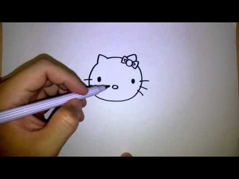 คิตตี้ สอนวาดรูป การ์ตูน คิตตี้ by วาดการ์ตูนกันเถอะ