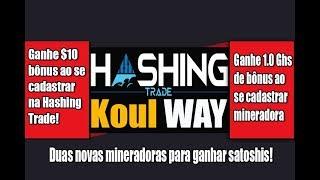 Novas mineradoras Hashing trade e Koulway ganhe bônus ao cadastrar(, 2017-10-01T01:33:51.000Z)