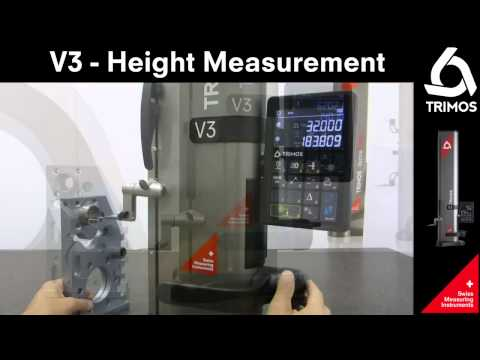 TRIMOS 트리모스 V3 / V4 동영상- 반복 정밀도 테스트