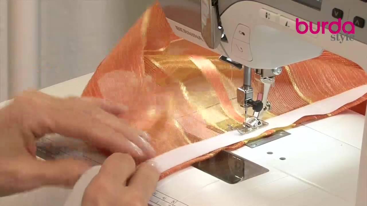 abbastanza Come confezionare una tenda a vetro - YouTube WL91