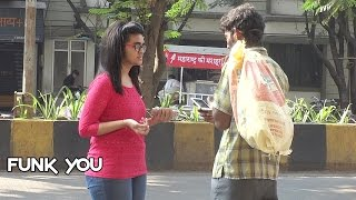 Beggar with iPhone Prank by Funk You (Pranks in India) (English Subtitles) thumbnail