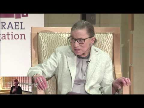 Supreme Court Justice Ruth Bader Ginsburg at Adas Israel