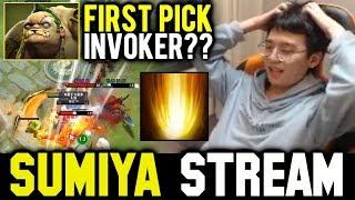 FIRST PICK INVOKER? | SUMIYA Invoker Stream Moments #570