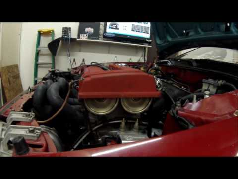 330hp B18c Type R Turbo Dyno (GoPro)