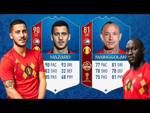 WORLD CUP MODE RATINGS CONFIRMED! FIFA 18