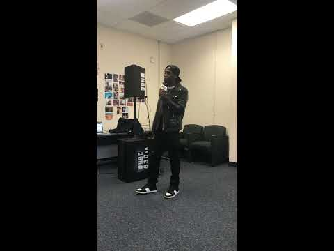 Bxbands Preforming Nas- If I Rule The World (Image That) Freestyle At Howard University