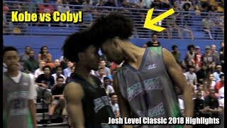 Game Gets HEATED & Coby White Drops 41! Josh Level Classic 2018