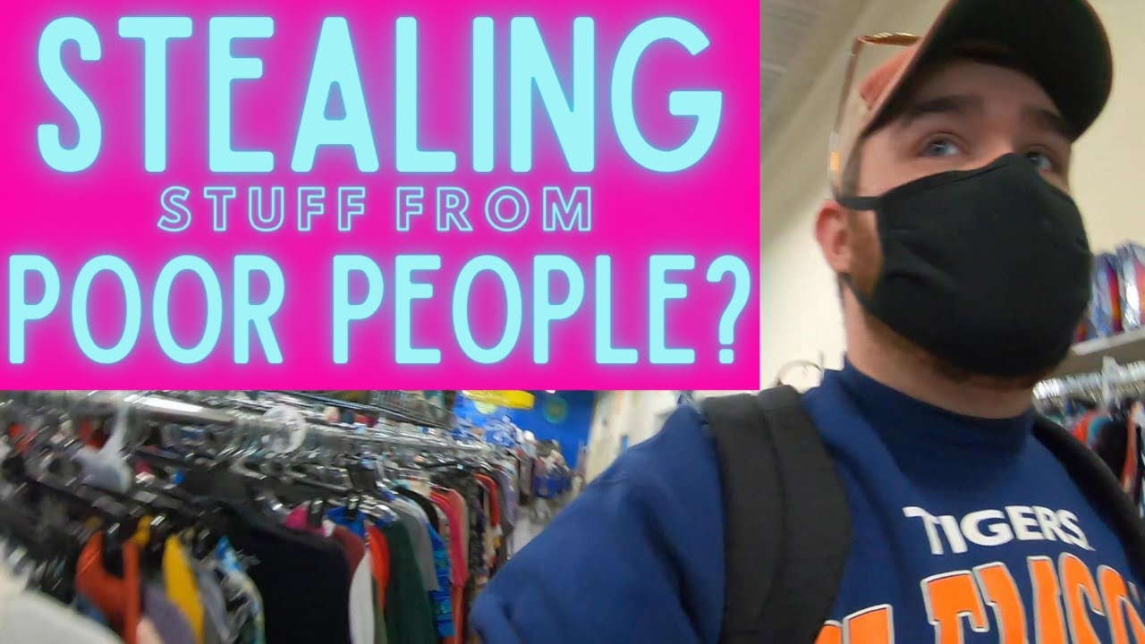 Flipping Thrift Store Items For A Profit...Stealing From Poor People?