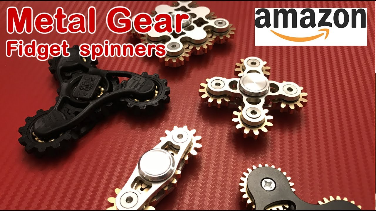 Top 5 Metal Gear Best Fidget Spinner Review On Amazon 2017 Youtube