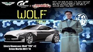 "GT Sport - Livery Showcase: Wolf ""TFK"" (NFS Carbon) #2 | Aston Martin DB11"