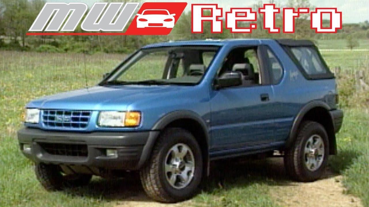 medium resolution of 1998 isuzu amigo retro review