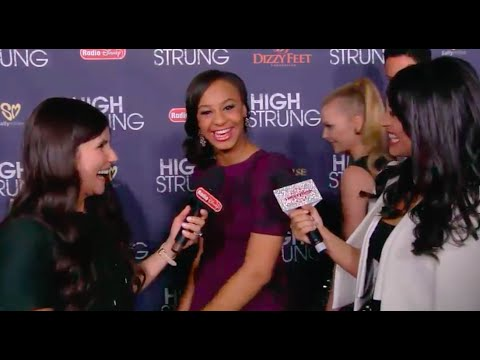 Nia Frazier Interview At High Strung Movie Premiere