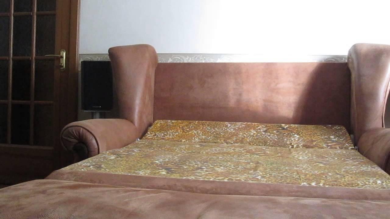 Во что переодеть старый диван. - YouTube