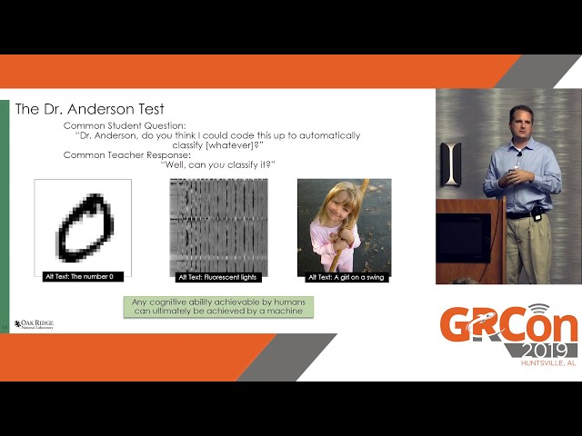 GRCon19 - Man or Machine?: Developing a