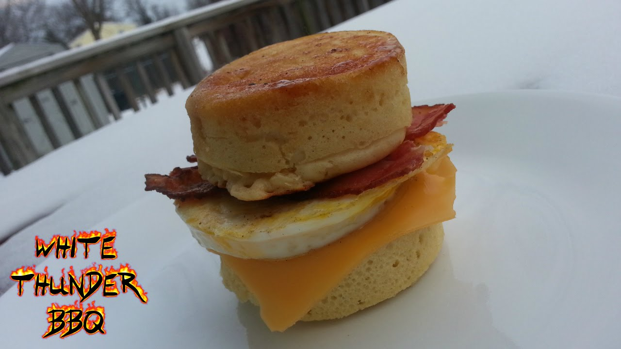 Maple Pancake Breakfast Sandwich Recipe Bacon Egg And Cheese On