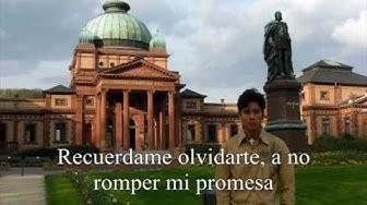 erinner mich dich zu vergessen-spanisch
