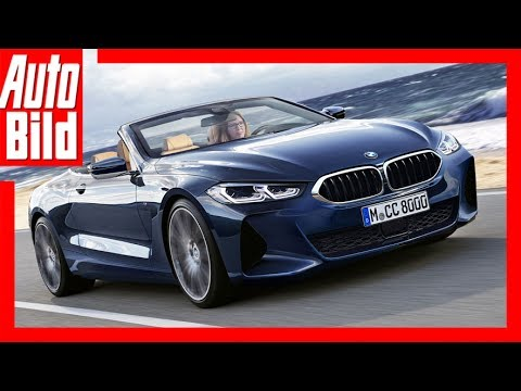 bmw 8er cabrio 2018 stoffkapuze f r 840i youtube. Black Bedroom Furniture Sets. Home Design Ideas