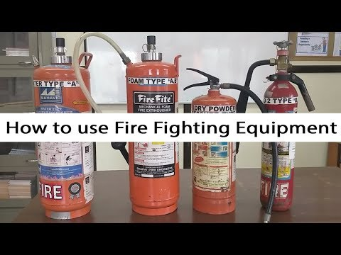 How To Use Fire Fighting Equipment | Great Wall Corporate Services