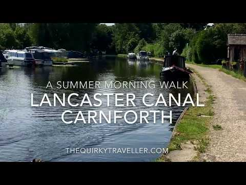 Stroll along Lancaster Canal at Carnforth #Lancashire