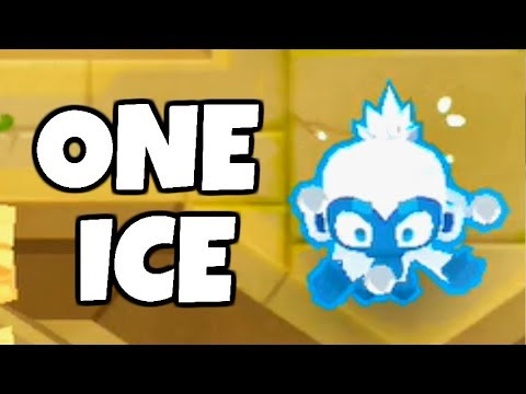 How Long Can You Survive With 1 Ice Monkey? (Bloons TD 6)
