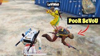 Levinho & I Bullied Sevou 😂 | PUBG Mobile | Menace Gameplay!