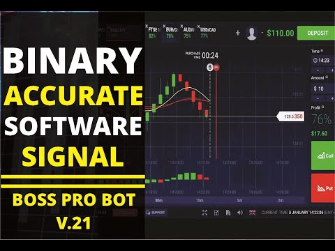 Binary Option Accurate Signals Software //Boss Pro Bot V21