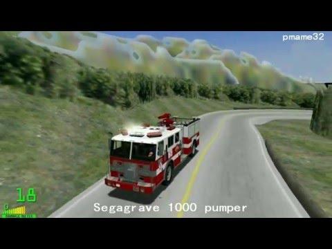 mm2 遊車河 (263) Segagrave 1000 pumper fire truck in Akagi Downhill City
