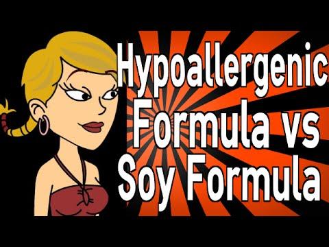 Hypoallergenic Formula vs Soy Formula