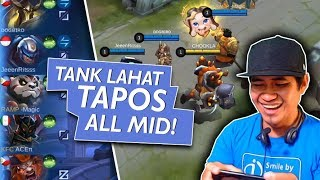 Trip sa Rank Game! All Tank, Mid Only!