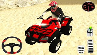 Emergency ATV Quad Bike Driving - Coast Guard Beach Rescue Team #3 - Android Gameplay