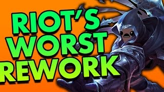 REWORKED TALON IS THE MOST WORTHLESS REWORKED CHAMPION EVER - League of Legends Commentary