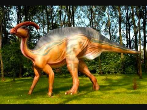 The sound of Parasaurolophus!