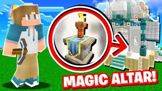 ACTIVATING the MAGIC ALTAR in Camp Minecraft! (Season 3)