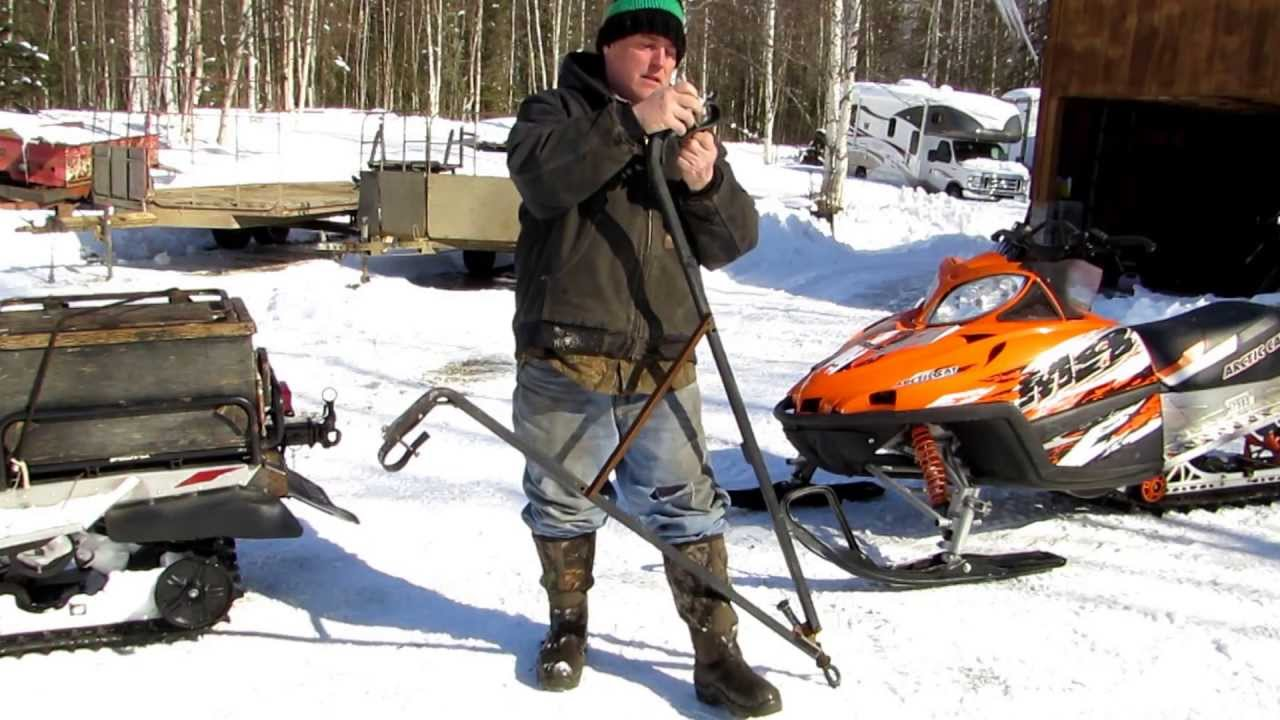 Tow bar and Sled