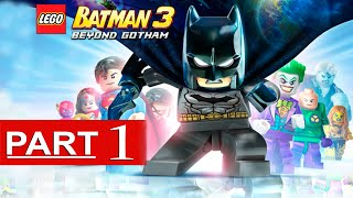 Lego Batman 3 Beyond Gotham Walkthrough Part 1 [1080p HD] Gameplay - No Commentary