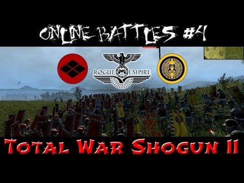 Total War Shogun II - Takeda vs Ikko Ikki - #4 Online Battle  