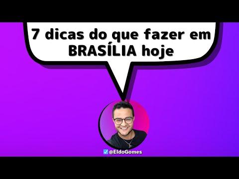 7 coisas para fazer em Brasília na PANDEMIA, o que fazer em Brasília no final de semana *Eldo Gomes*